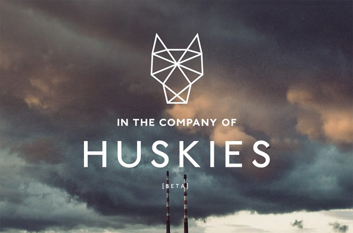N THE COMPANY OF HUSKIES