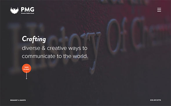 საუკეთესო საიტები შთაგონებისთვის, ბუნდოვანი ეფექტები ვებ დიზაინში